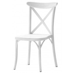 Chaises empilables table polyethylene